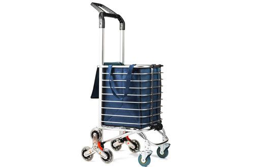580e30db1df2 Top 10 Best Folding Shopping Carts with Wheels Reviews In 2019   Top ...