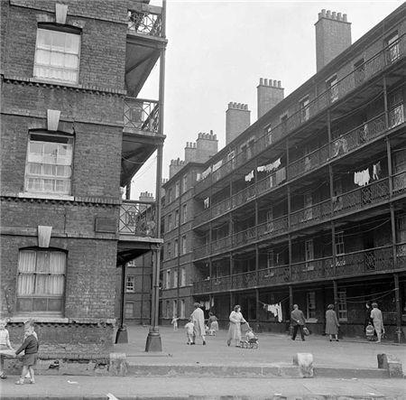 Beaconsfield Buildings Islington 1960