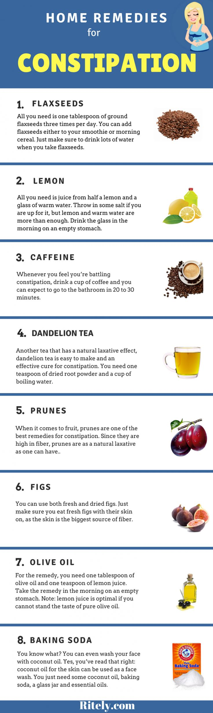 Natural Cures For Constipation And Bloating