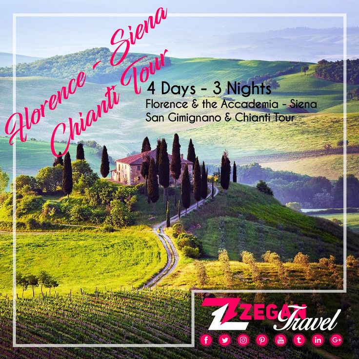 Florence & Chianti Tour (4 Days -3 Nights) *Florence -  Accademica Tour - Siena - San Gimignano  - Chianti *Airport Transfers *Guided Daily Tours  Contact us now info@zegantravel.com http://www.italytourpackage.com/en/tour_packages/florence_packages/274/florence-&-the-accademiasiena-san-gimignano-&-chianti-tour.html #italy #italytour #italytravel #europe #europetour #europetravel #florence #florencetour #florencetravel  #AccademicaTour #Siena #SanGimignano  #Chianti