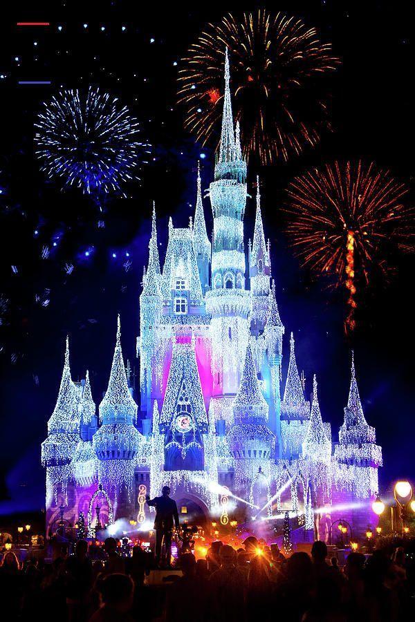 Disney Fireworks Time