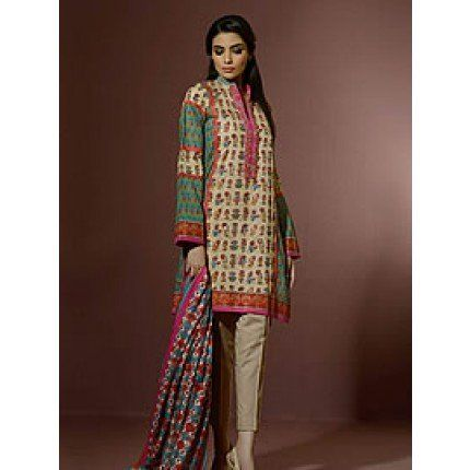 Alkaram umer sayeed festival 2014 collection ucl6