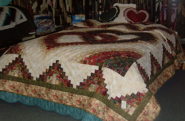 Linking-Hearts Bargello Quilts Pinterest Quilt and Bargello quilts