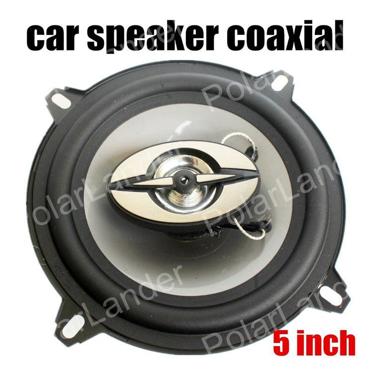 2PCSx 5 Inch Car Coaxial Speakers Stereo Audio Speaker bass tweeter for all cars max music power 180W hot sale