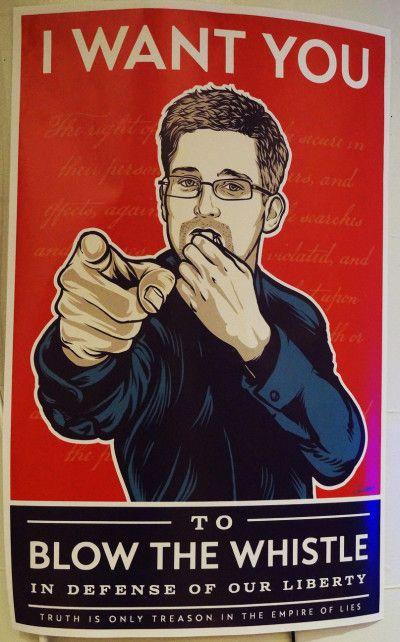 Edward Snowden Calls for Civil Disobedience