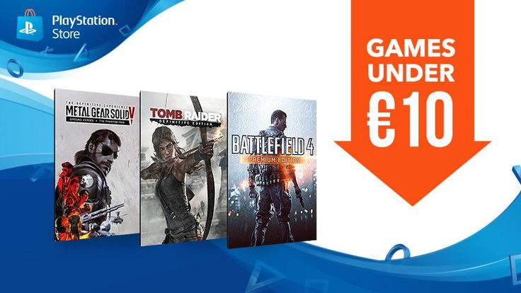 PlayStation Stores Games under 10 discounts start today. Grab hefty savings on Battelfield 4 Tomb Raider Metal Gear Solid V and more. #Playstation4 #PS4 #Sony #videogames #playstation #gamer #games #gaming