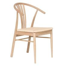 WISHBONE Dining Chair, Natural