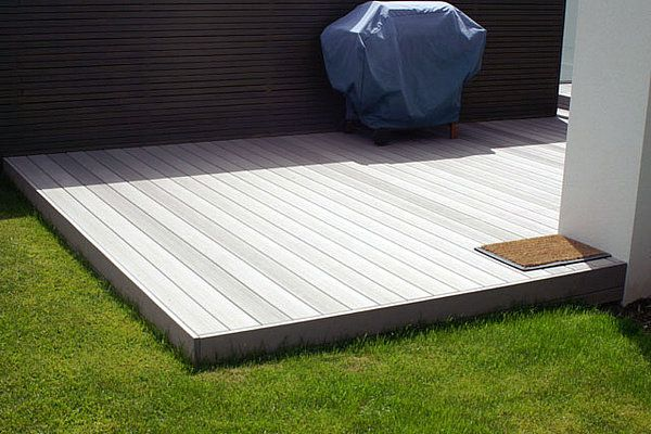 Composite deck designs cheap decking ideas design for Cheap decking material