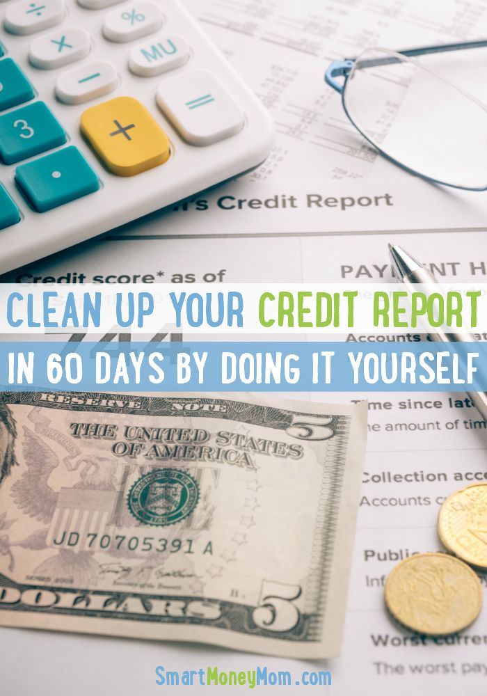 Did you know that you can Clean Up Your Credit Report BY YOURSELF? Yep! I did it and I increased my score in 60 days. Check out my new eBook: 60 Day Credit Clean Up! In this book you will learn: *How To Get Your Credit Report For Free *How to Understand Your Report *How to negotiate errors and have them Removed within 30 days *How I Paid $348 for a $5000 hospital bill *How to negotiate student loan collections and MORE! Plus, 2 bonuses are available for a short time: >> How to pay off $20