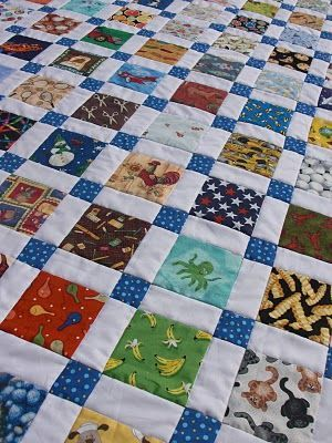 10 free quilt patterns for colorful quilts!