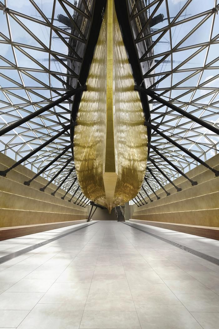 Grimshaw Architects' Cutty Sark renovation.  Photo © Cutty Sark Trust