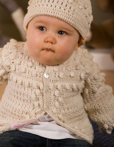 Boys Crochet Sweater & Hat - Knitting Patterns and Crochet Patterns from KnitPicks.com