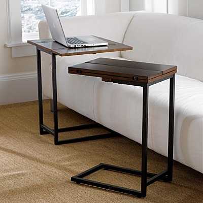 Wondering if this Expanding Tray Table   {{ from Improvements Catalog}} will fill the bill for my sofa computing needs.