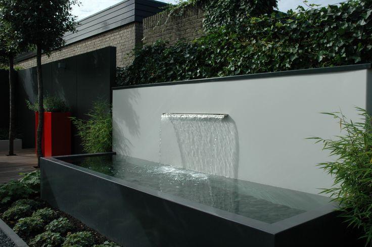 Aluminium ponds made by Potmaat The Netherlands.   strak en modern ...