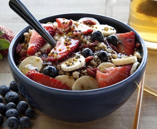 What is an Acai Bowl? To understand the acai bowl, you must first know the acai berry. The acai berry (sometimes spelled açaí, pronounced ah-sah-EE) is the fruit of the acai palm tree from the Amazon of Brazil. These dark purple berries are filled with healthy antioxidants, amino acids, and essential fatty acids. For these benefits, as well as the delicious, dark chocolate-like taste, acai berries have become one of the hottest superfoods.