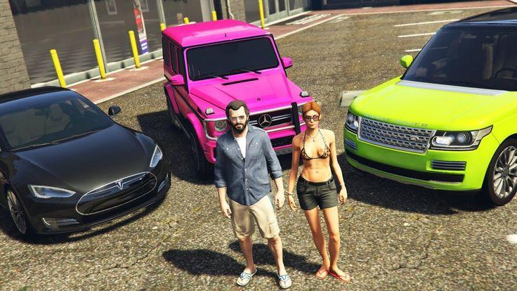 GTA 5 Real Life Mod #43 - BUYING MY GIRLFRIEND A NEW CAR!! (GTA 5 Mods)