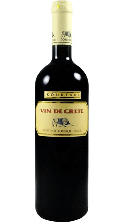 #Kourtaki #vin de #crete red 2008