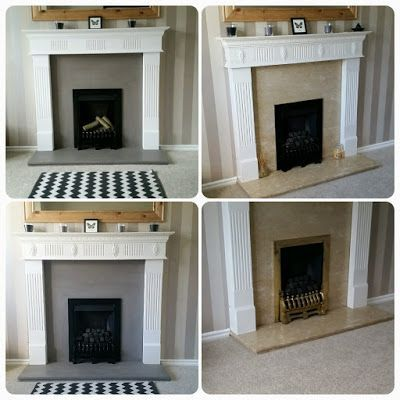 When I bought my house, this 1980's condemned marble gas fire, an original feature in my 1984 property, was an eyesore to say the least, and asking to be ripped out. Replacing or removing an old fire