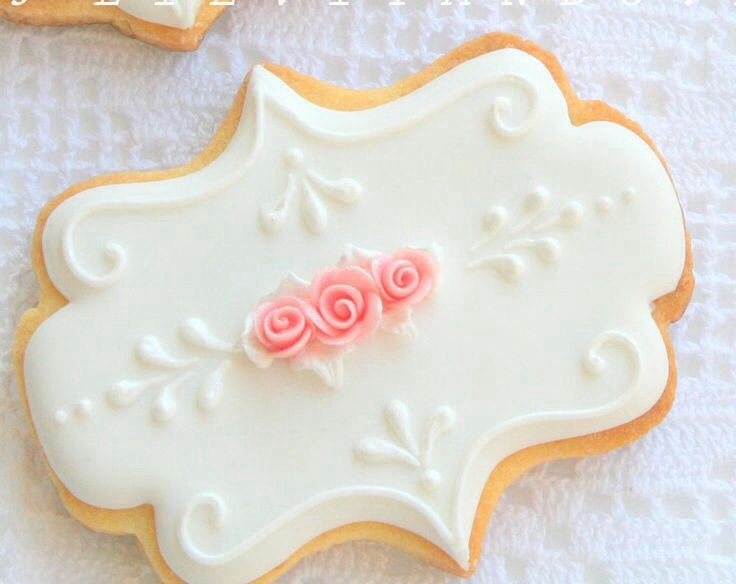 ♔Plaque Cookie