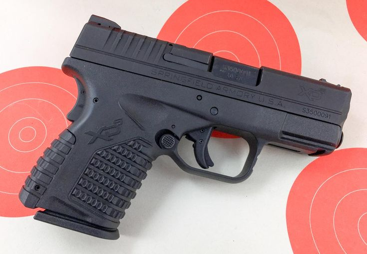 Gun Review: Springfield Armory XD-S .40 S&W, I find the XD-S to be the perfect size for easy concealed carry.