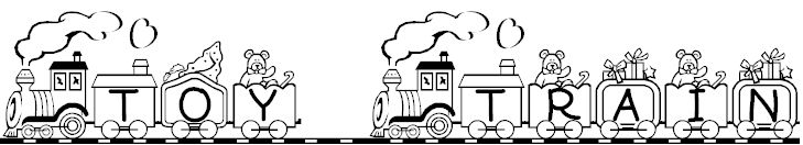 Toy Train sample text
