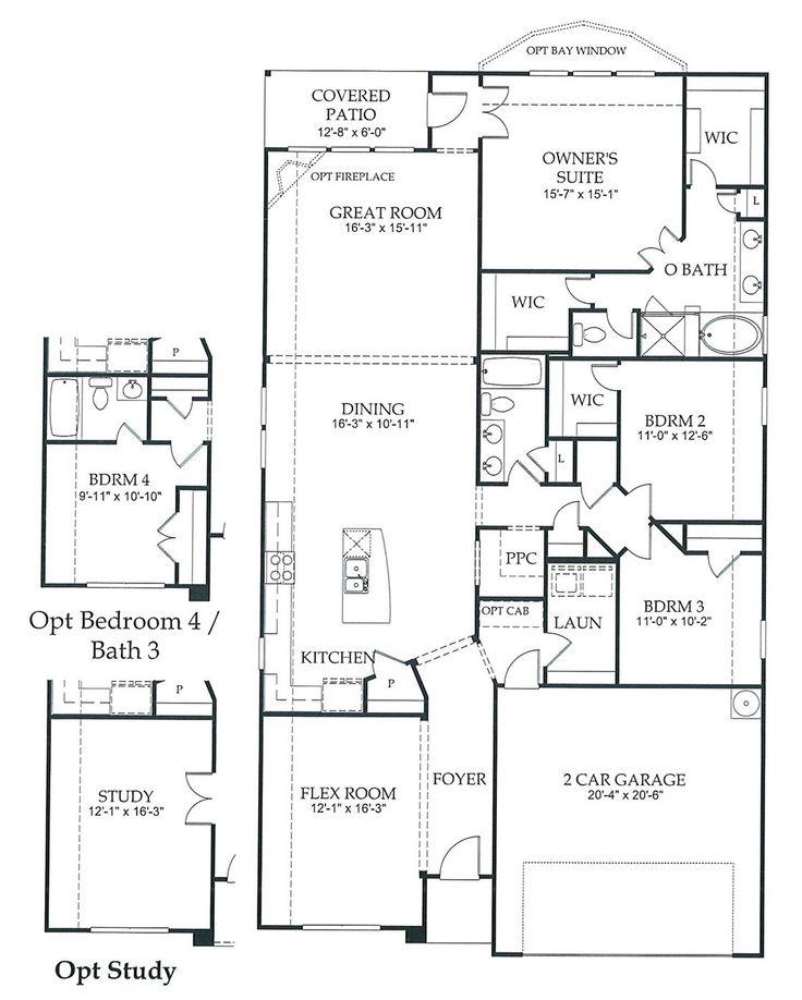 2200 sq ft newland communities fav home floor plans for Floor plans for 2200 sq ft homes