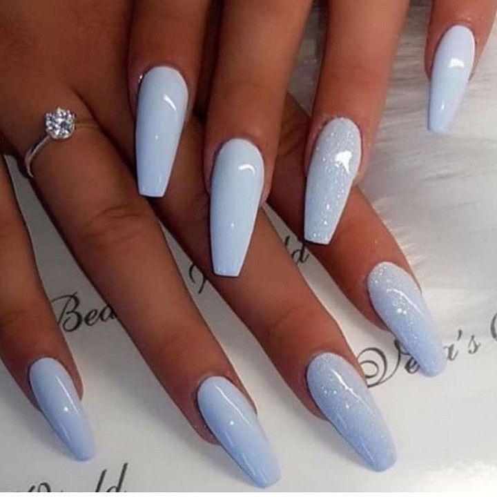 Diy Desk Diy Knutselen Bedroom Decor Pastel Nail Cottage Decor Acrylic Nail Dresser Decor Di In 2020 Blue Acrylic Nails Best Acrylic Nails Summer Acrylic Nails