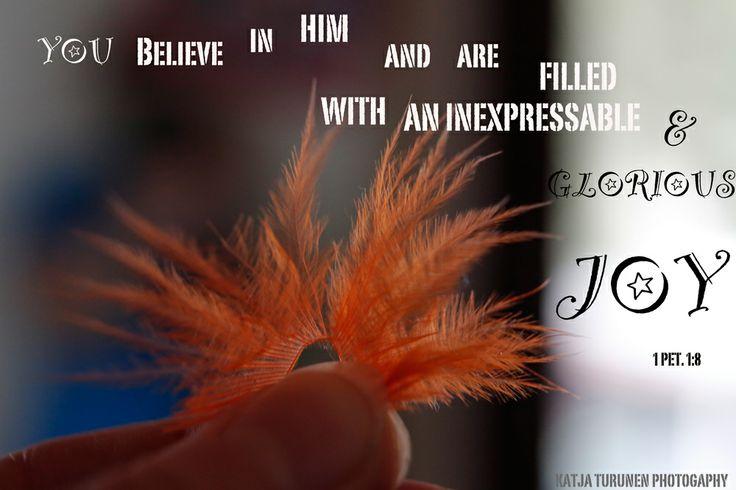 1 Peter 1:8  1 Peter 1 8  Photographer: Katja Turunen