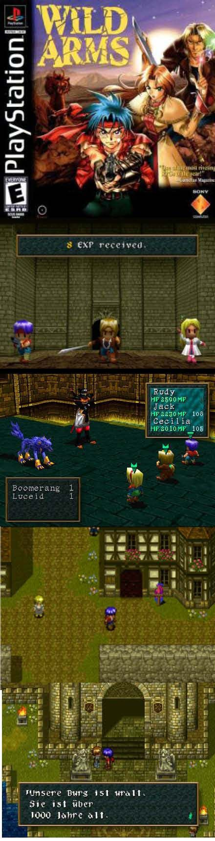 #RetroGamer #WildArms was released 20 years ago and it is still a great #RPG, gamers take notice! http://www.levelgamingground.com/wild-arms-review.html