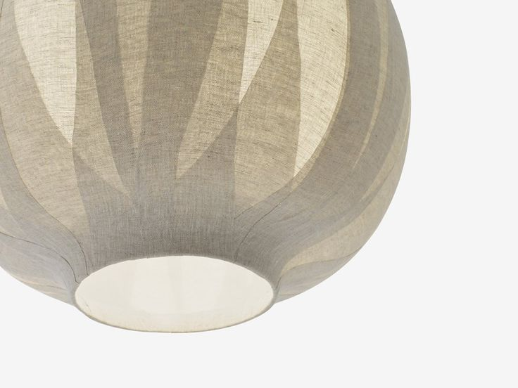 penchant-for-design u201c Japanese design studio Nendo has created Nuno a series of l&s for Vibia. u201cWe layered and adhered cloth (u0027nunou0027 in Japanese) onto ... & 117 best Lighting - pendant images on Pinterest | Chandeliers ... azcodes.com