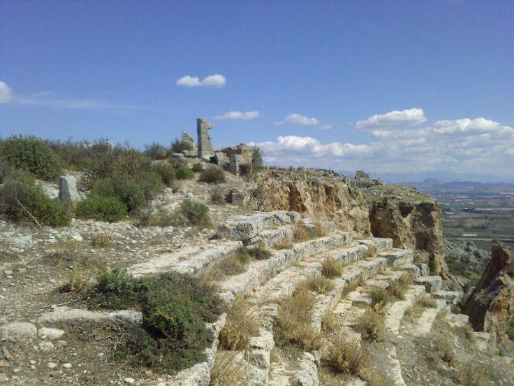 Sillyon, Turkey Ancient theatre
