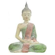 I VIANDANTI - Budda seduto colorato