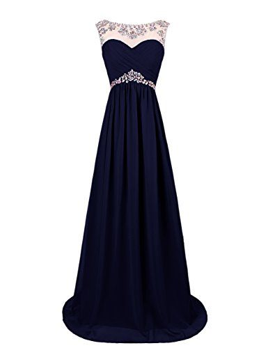 Dresstells® Long Chiffon Prom Dress with Beadings Wedding Dress Maxi Dress Evening Party Wear Dresstells http://www.amazon.co.uk/dp/B00OHGE518/ref=cm_sw_r_pi_dp_zj-wvb13A4S38