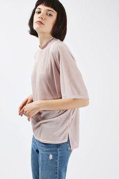 Metallic Batwing T-Shirt