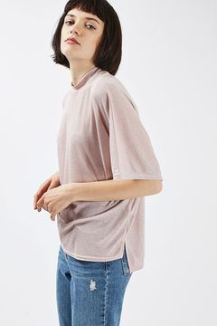 Metallic Batwing T-Shirt