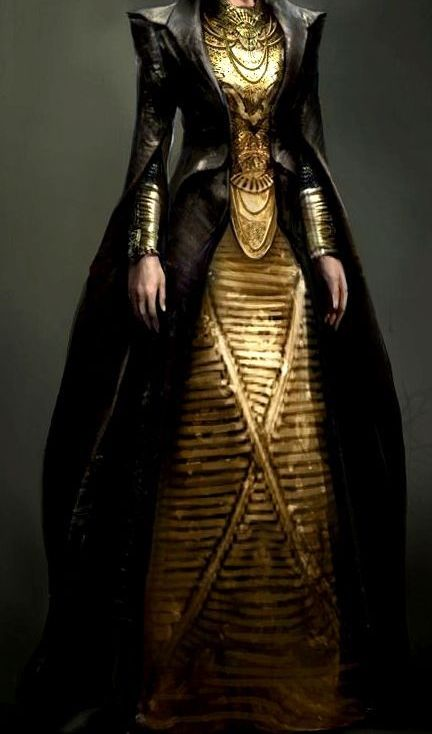 Elpia's new Senate gown O_O