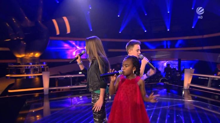 The Voice Kids Germany battle Mike vs Chelsea vs Olivia Empire State O...