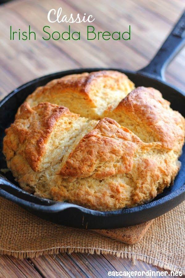Eat Cake For Dinner: Classic Irish Soda Bread {It's so Yummy}