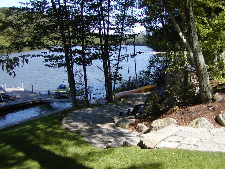 15 best Waterfront Backyard images on Pinterest on Lakefront Patio Ideas id=76756