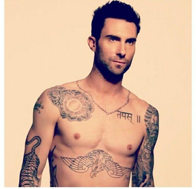 adam levine tatuagens