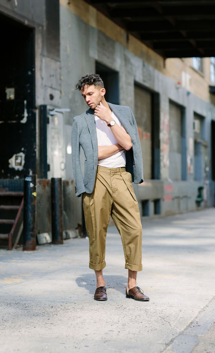 Are Pleated Pants In Style For Men