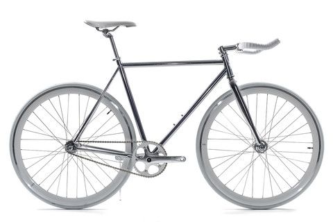 State Bicycle polished fixed-gear