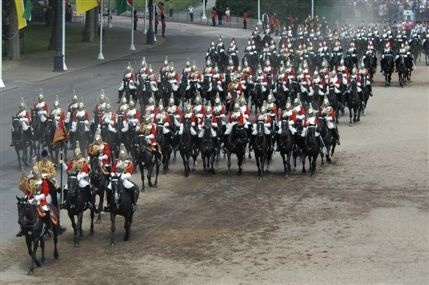 Horse Guards Parade, Westminster London
