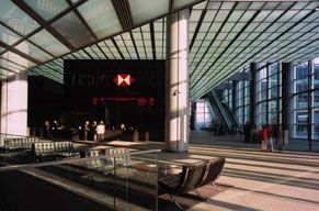 HSBC London, UK. Foster+Partners. Interior.