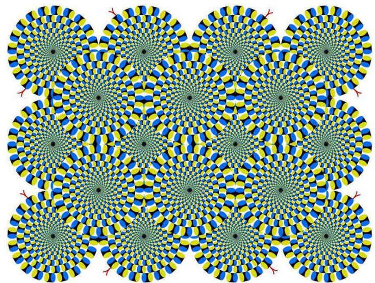 spinning circle mind illusion - Google Search
