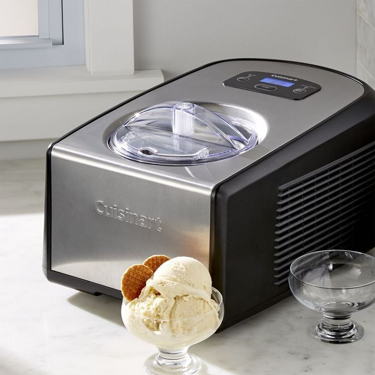 Cuisinart ® Ice Cream and Gelato Maker - Crate and Barrel