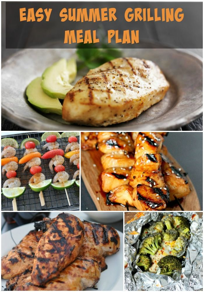 Top 28 grilling dinner ideas 30 grilled chicken for Easy fish recipes for dinner