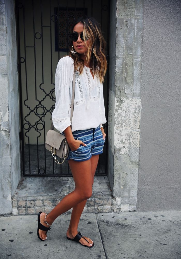 128 best Outfit Ideas - Denim Shorts & Cutoffs images on Pinterest