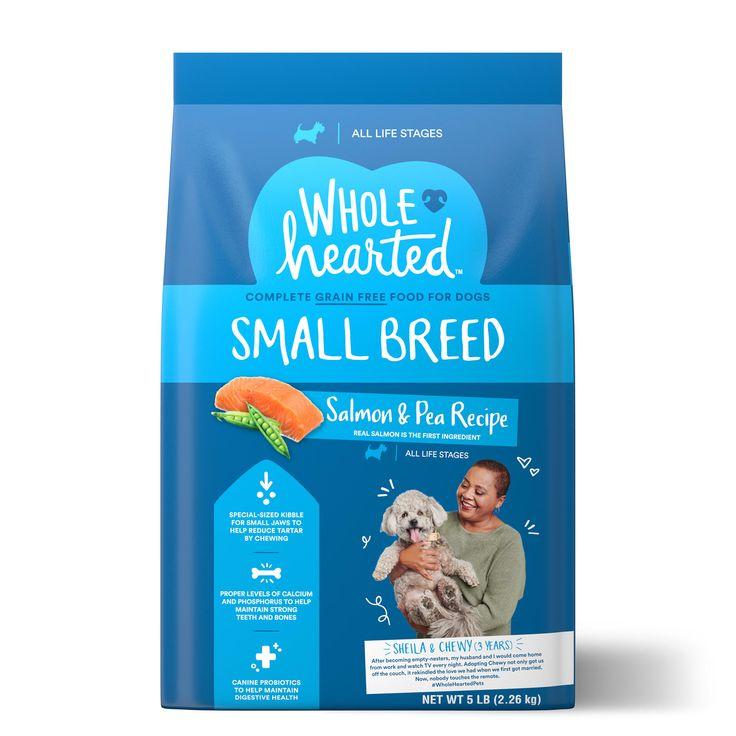 Wholehearted Grain Free Small Breed Salmon And Pea Recipe Dry Dog
