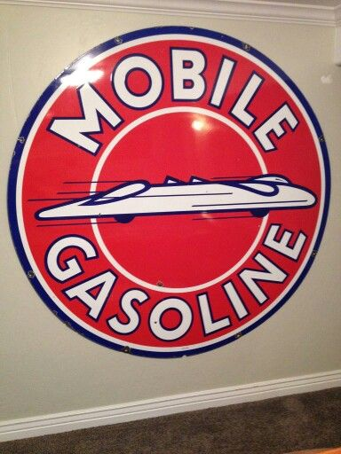Mobile Auto Garage Signs : Best vintage gasoline oil and auto signs images on